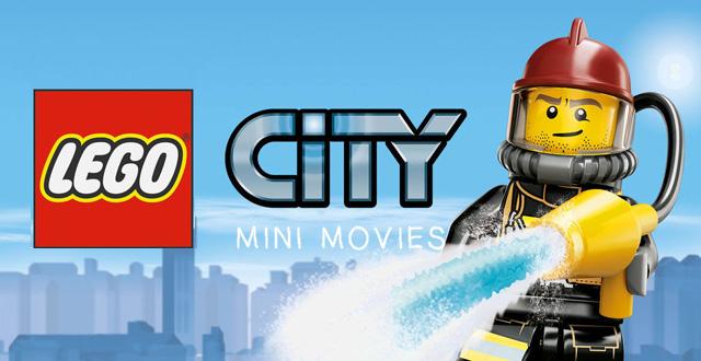 Lego City Mini Banner