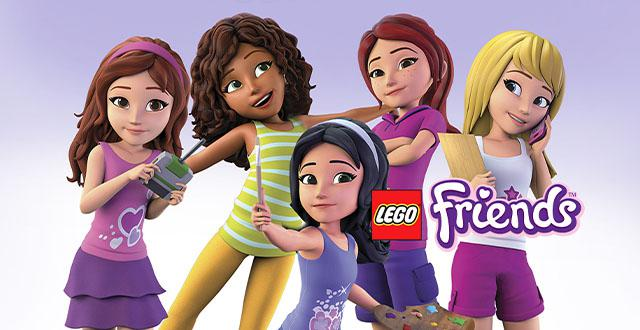 Lego Friends Banner