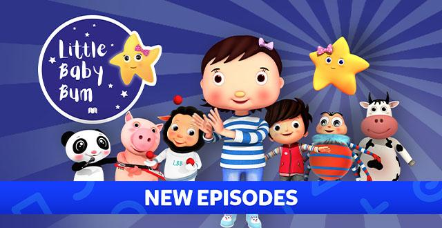 Little Baby Bum Banner