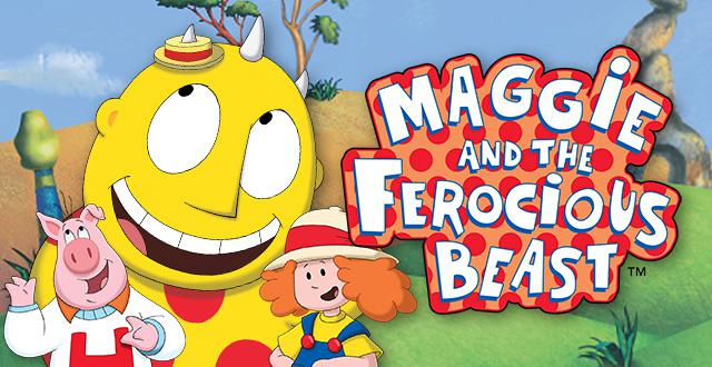 Maggie and the Ferocious Beast Banner