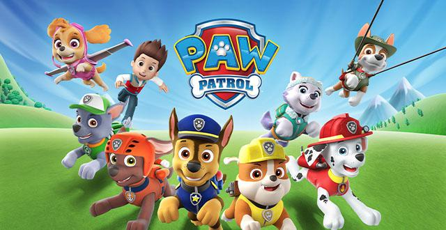 Paw Patrol Pup Tales Banner