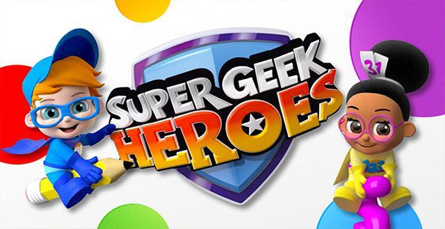 Super Geek Heroes Banner