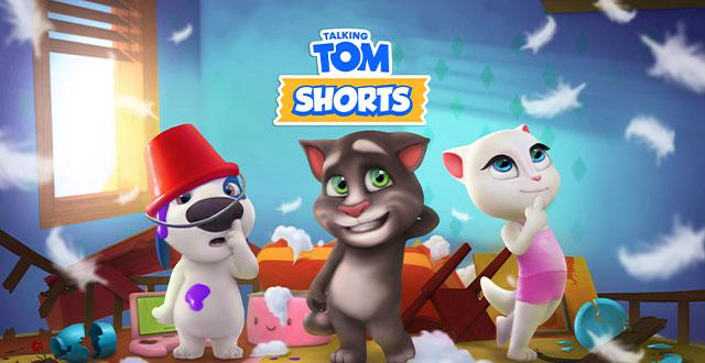 Talking Tom Shorts Banner