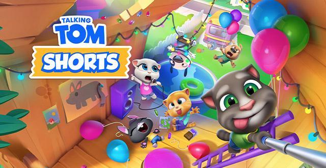Talking Tom Shorts Banner