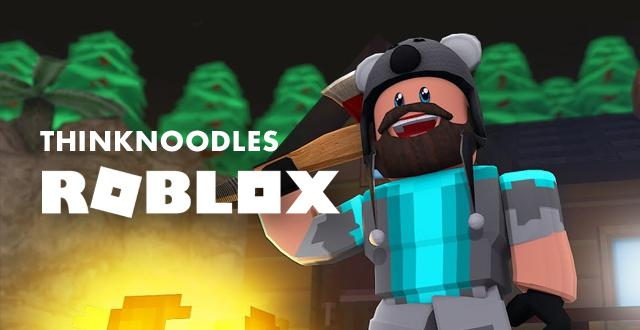 Think Noodles Roblox Banner
